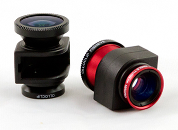 3-IN-ONE lens system for your iPhone 4S/4 that fits in your pocket