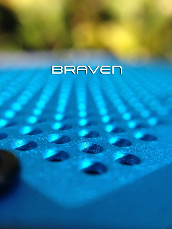 I won a BRAVEN bluetooth speaker